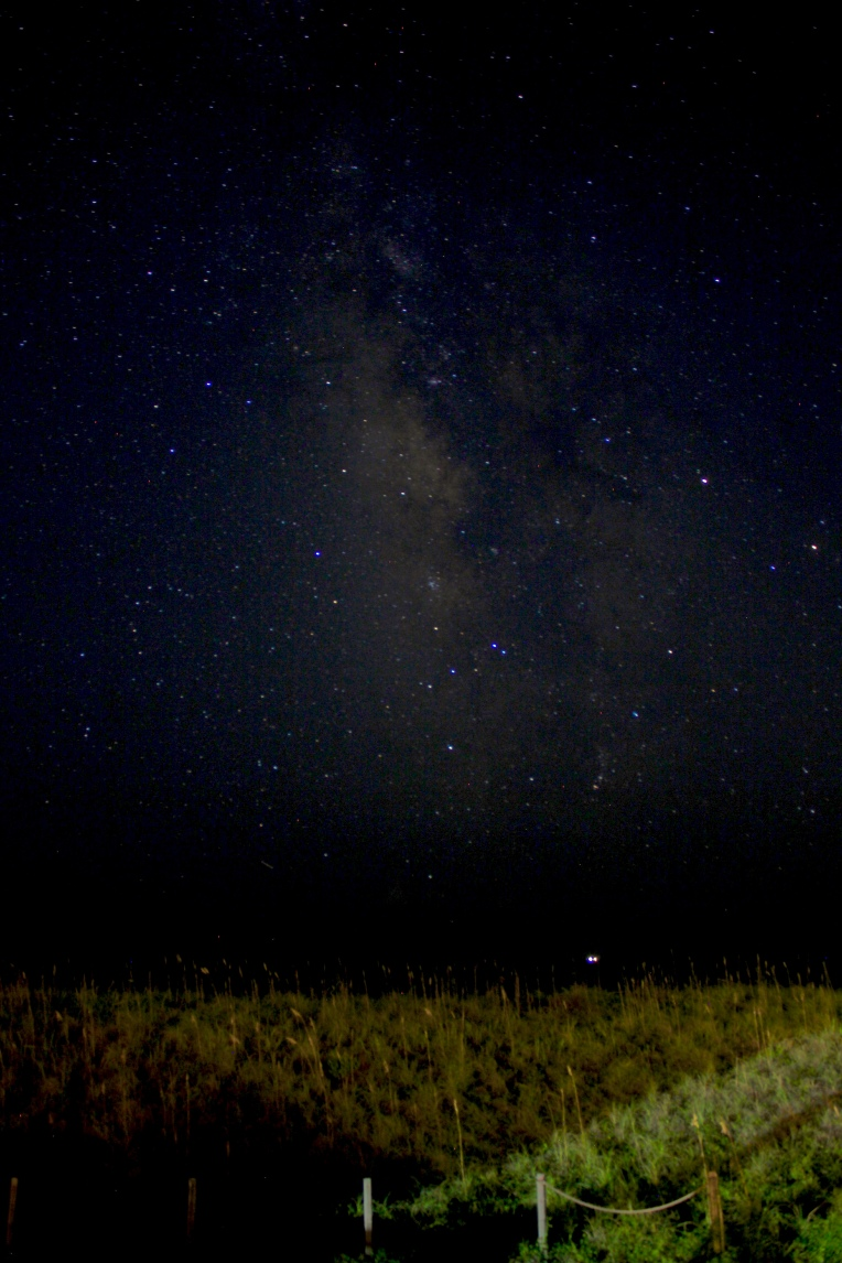 Star gazing ~ Looking Southward across the Atlantic