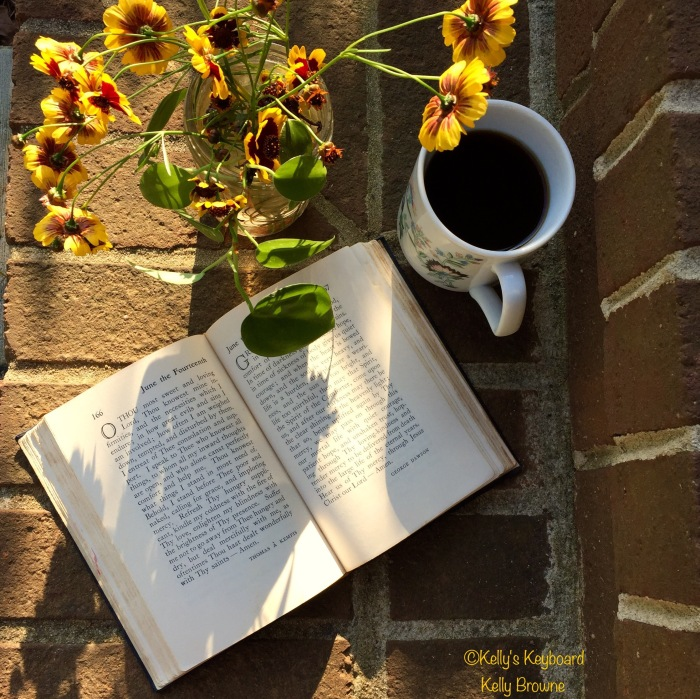 New day, Old books & Strong coffee