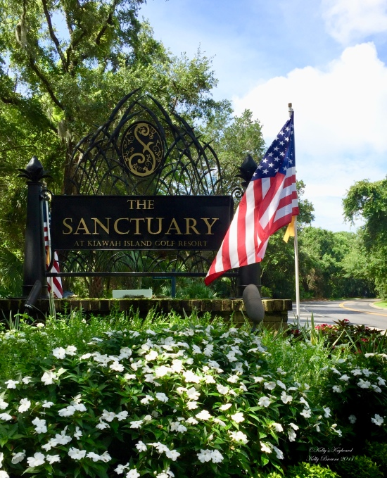 Departure Sign:  Sanctuary