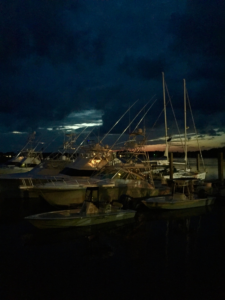 Boats at Bohicket
